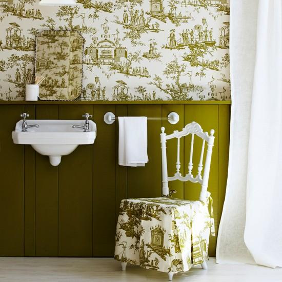 Bathroom wallpapers housetohomecouk 550x550