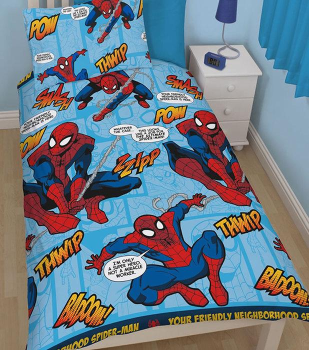 Childrens Rooms Spiderman Spiderman Bedding Thwip Single Duvet 618x700