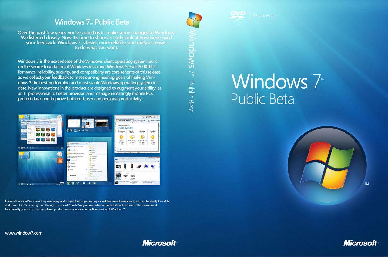 Windows 7 Beta Wallpaper Windows 1280x848