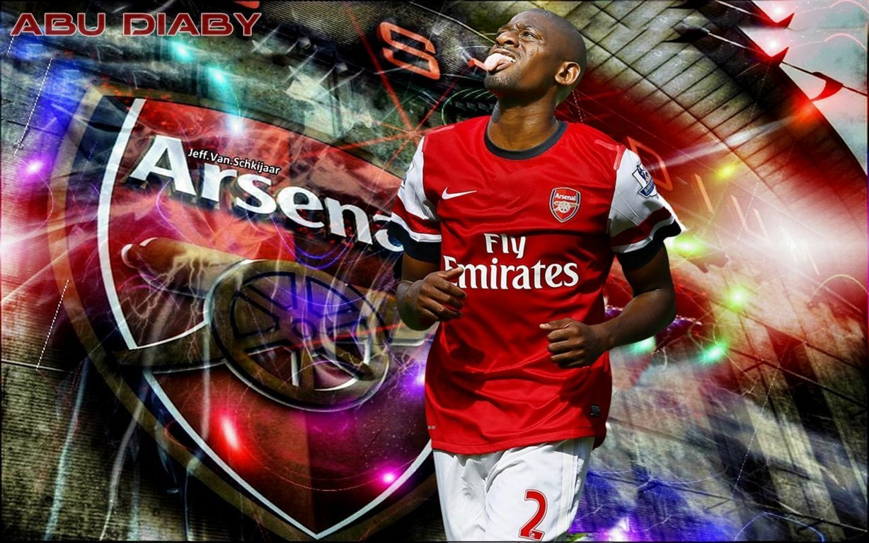 Diaby Arsenal Wallpaper HD 2013 2 wallpapers55com   Best Wallpapers 1228x768