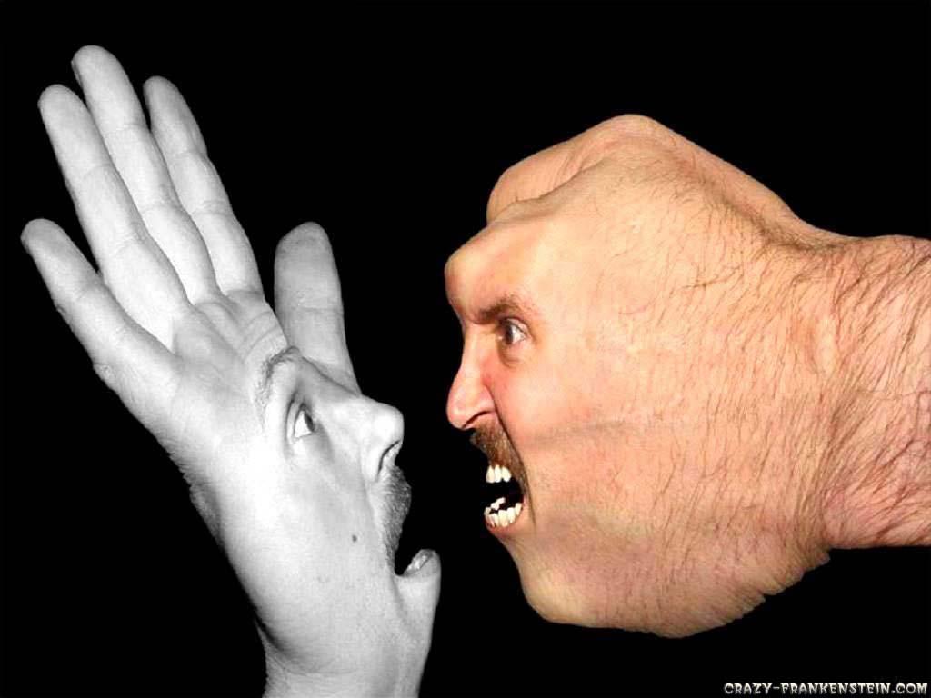 Wallpaper Funny hands wallpaper 1024x768