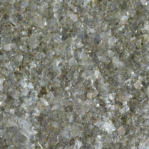 Green Tinted Mica Chips textured metallic paper backed wallpaper 500x500