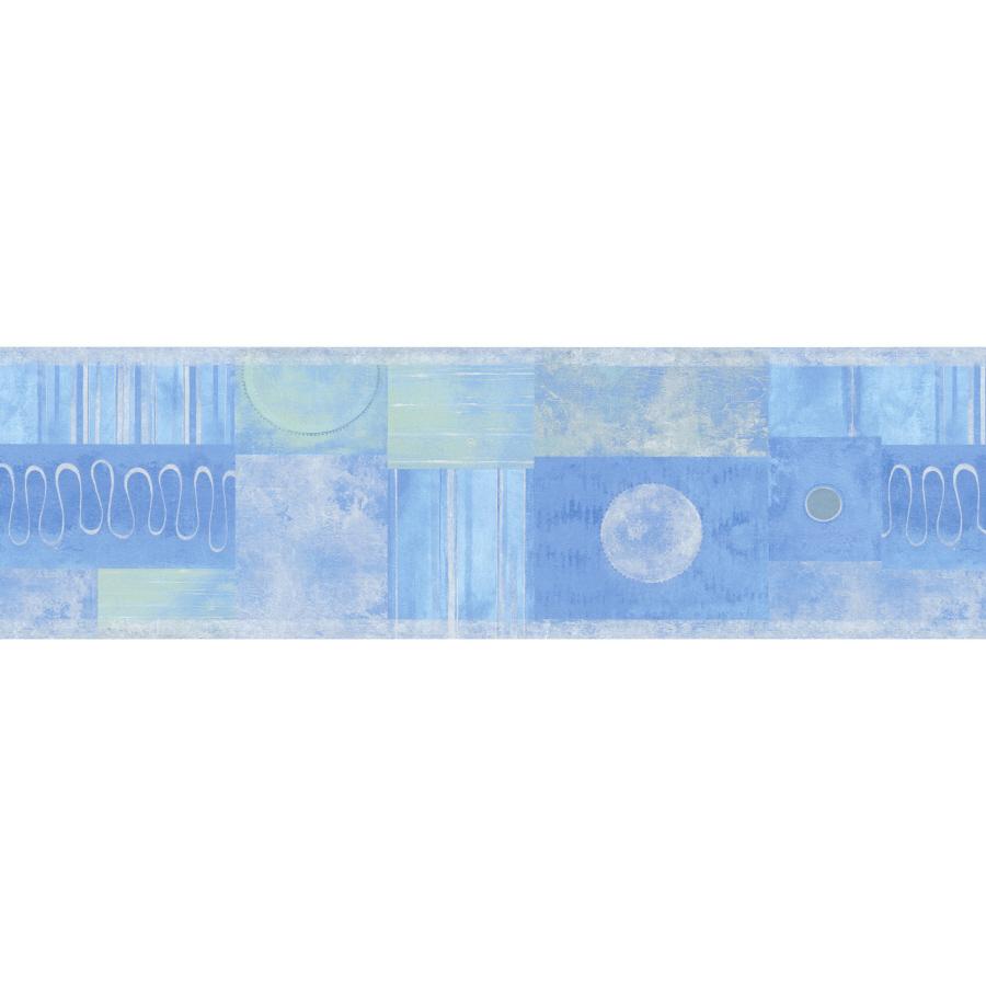 Geometric Shapes Prepasted Wallpaper Border at Lowescom 900x900