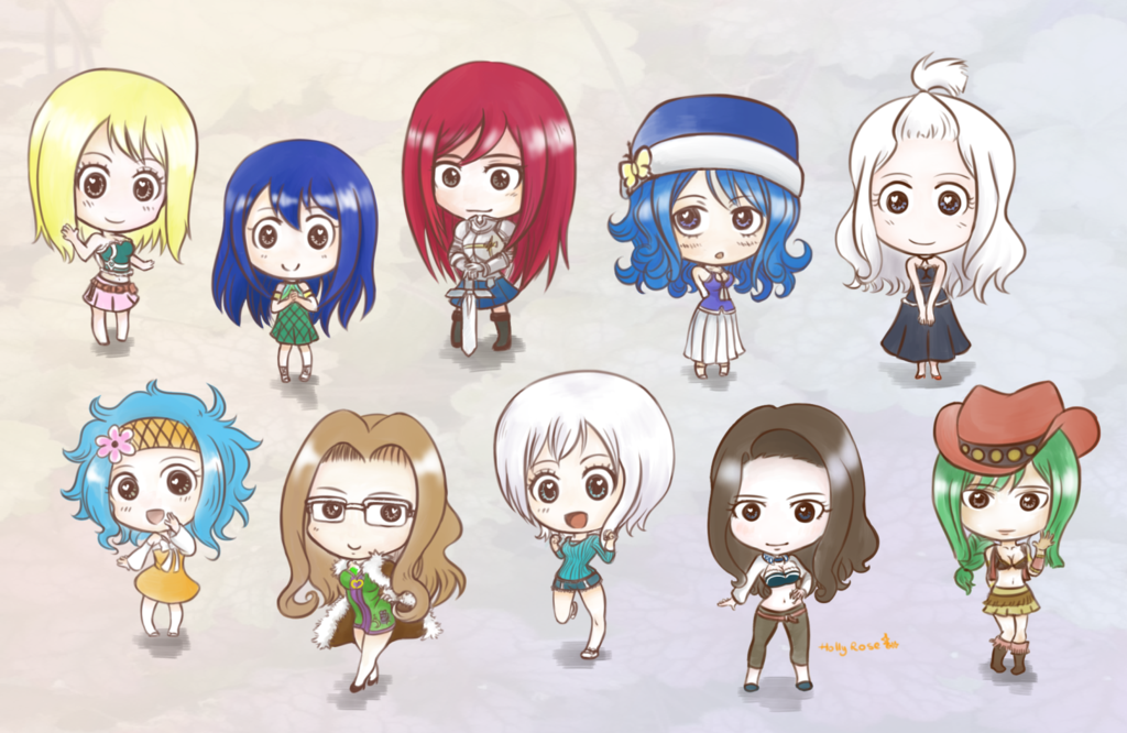 Fairy Tail Chibi Wallpaper - WallpaperSafari