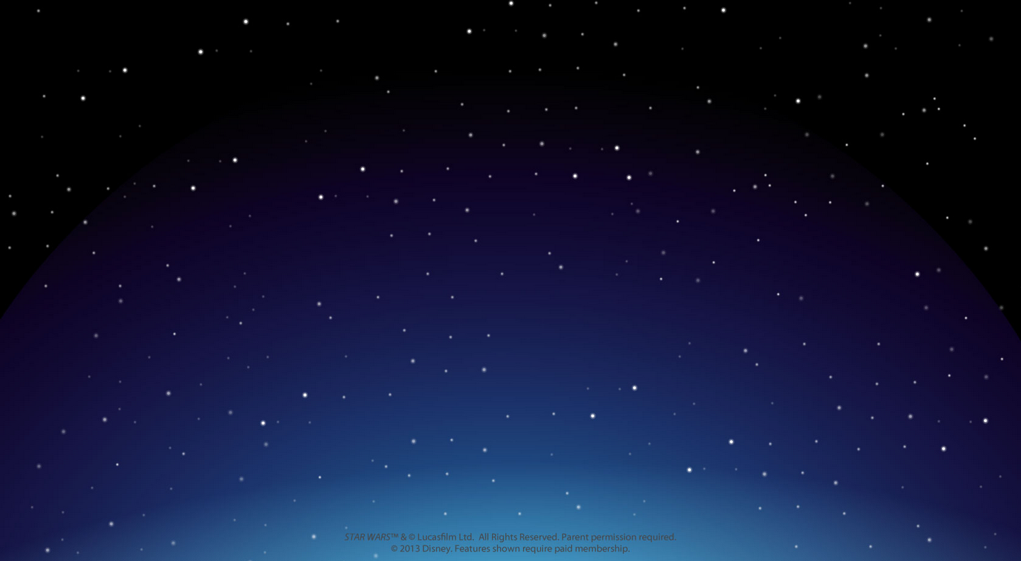 Website Updated With New Space Background And Star Wars Party Teaser 1439x791