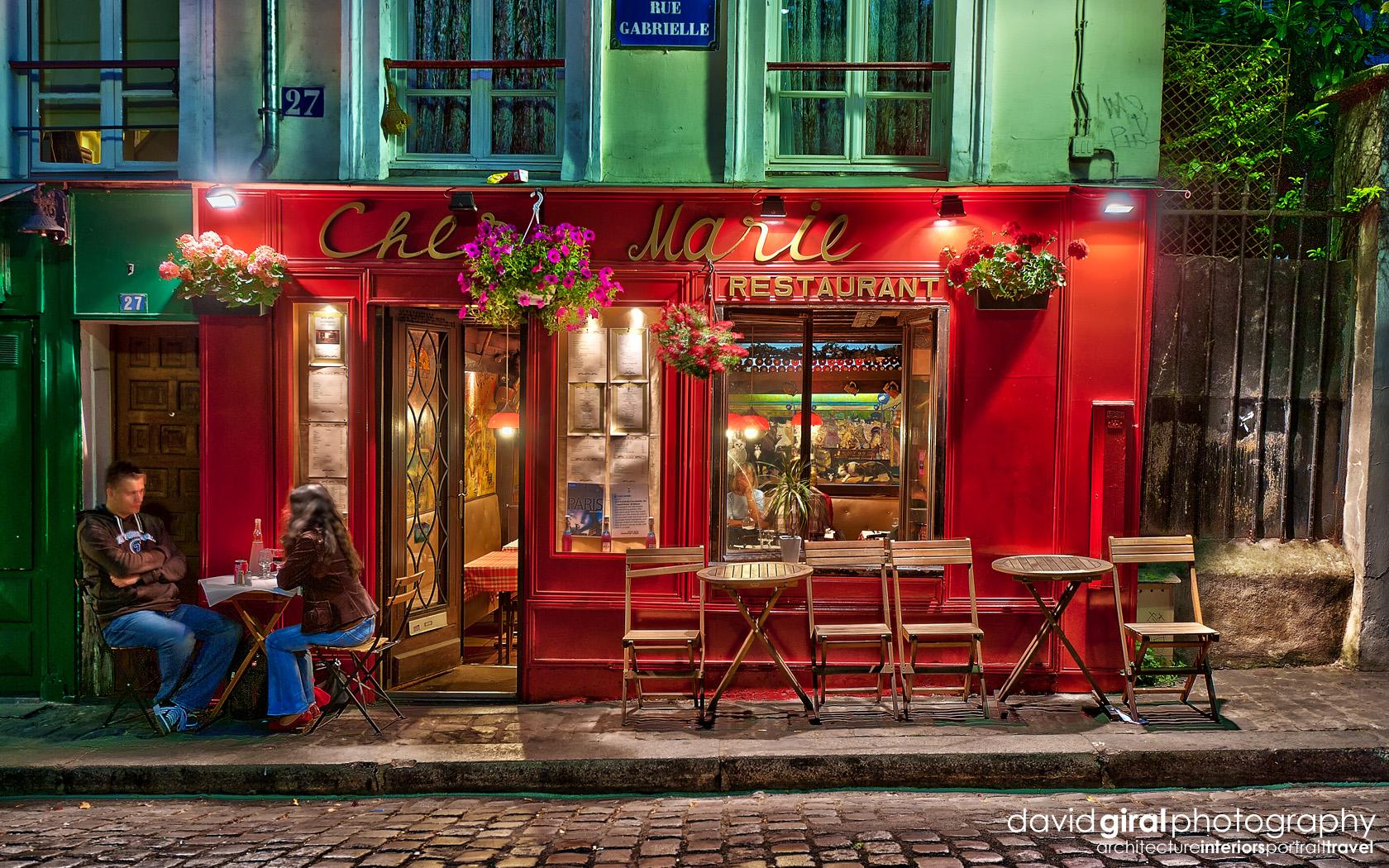 Exploring Paris The romantic terraces of Montmartre at night Blog 1680x1050