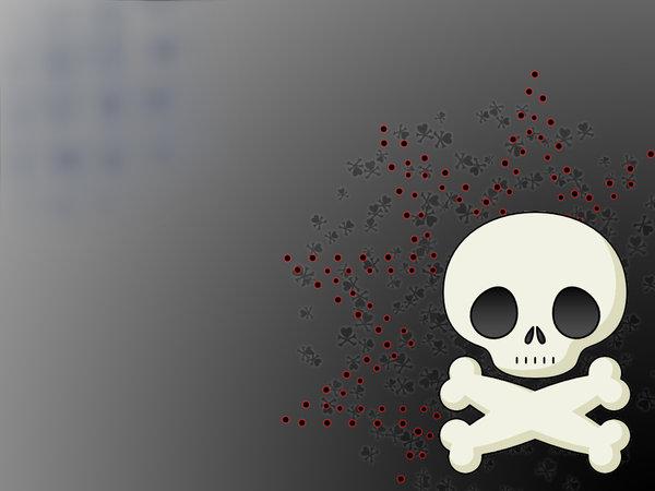 pics photos cute skull wallpaper