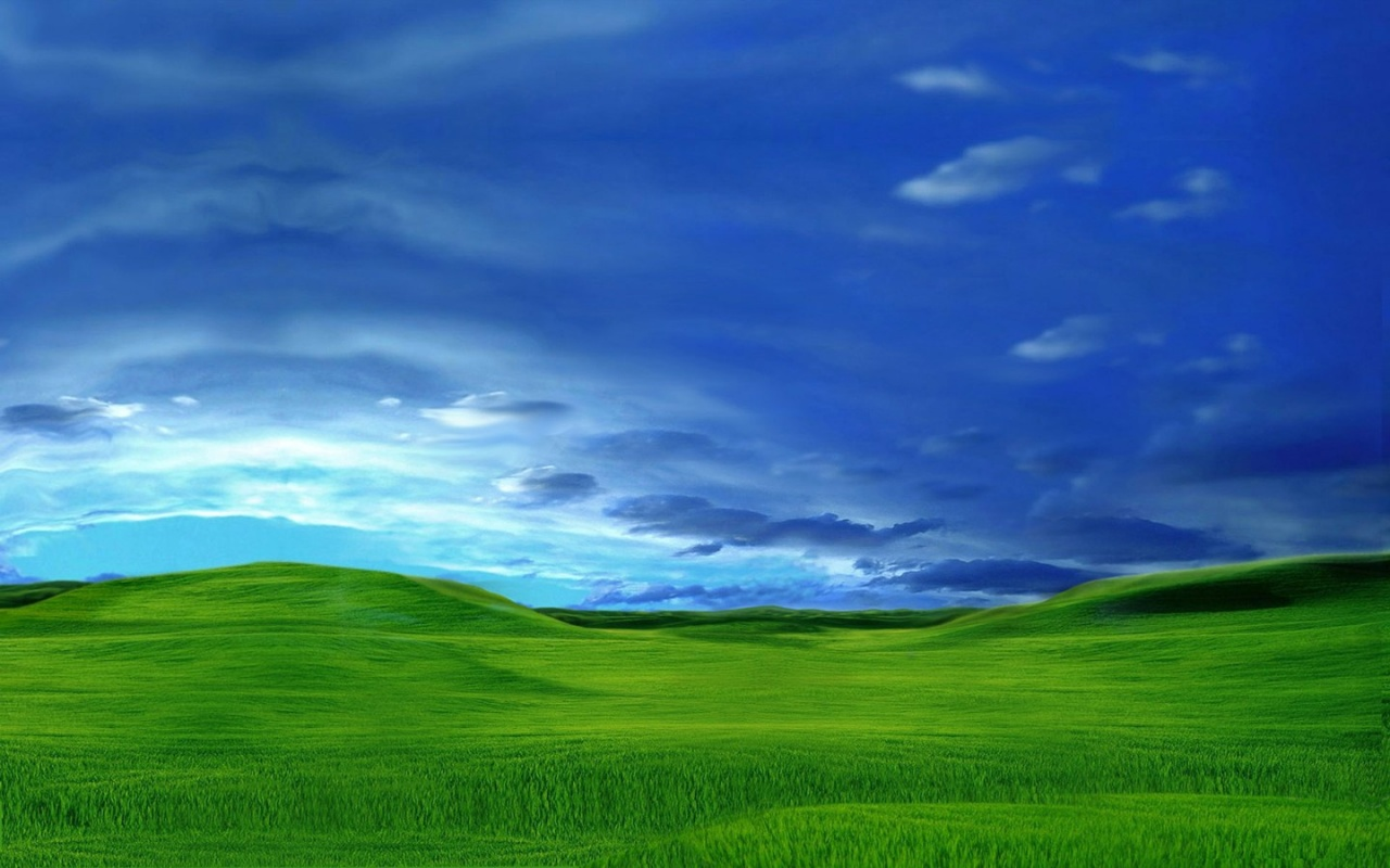 1280x800 Green digital plain desktop PC and Mac wallpaper 1280x800