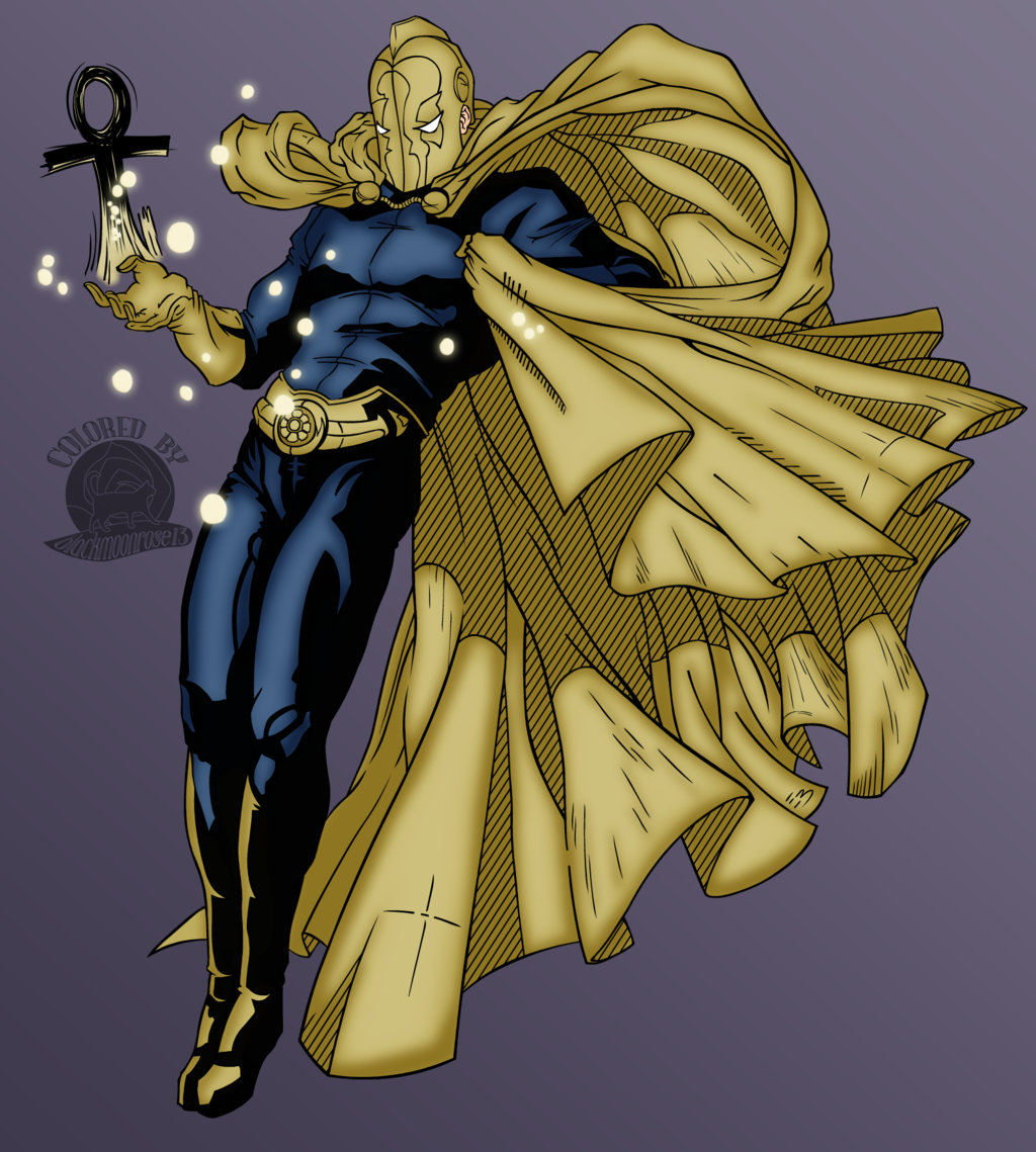 Doctor Fate by Blackmoonrose13 1024x1139