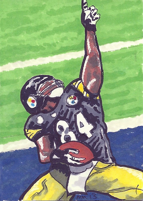 Antonio brown Pittsburgh steelers psc by bedlamnac 498x698