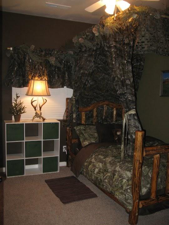 Hunting Camo Boys Room Ideas 540x720