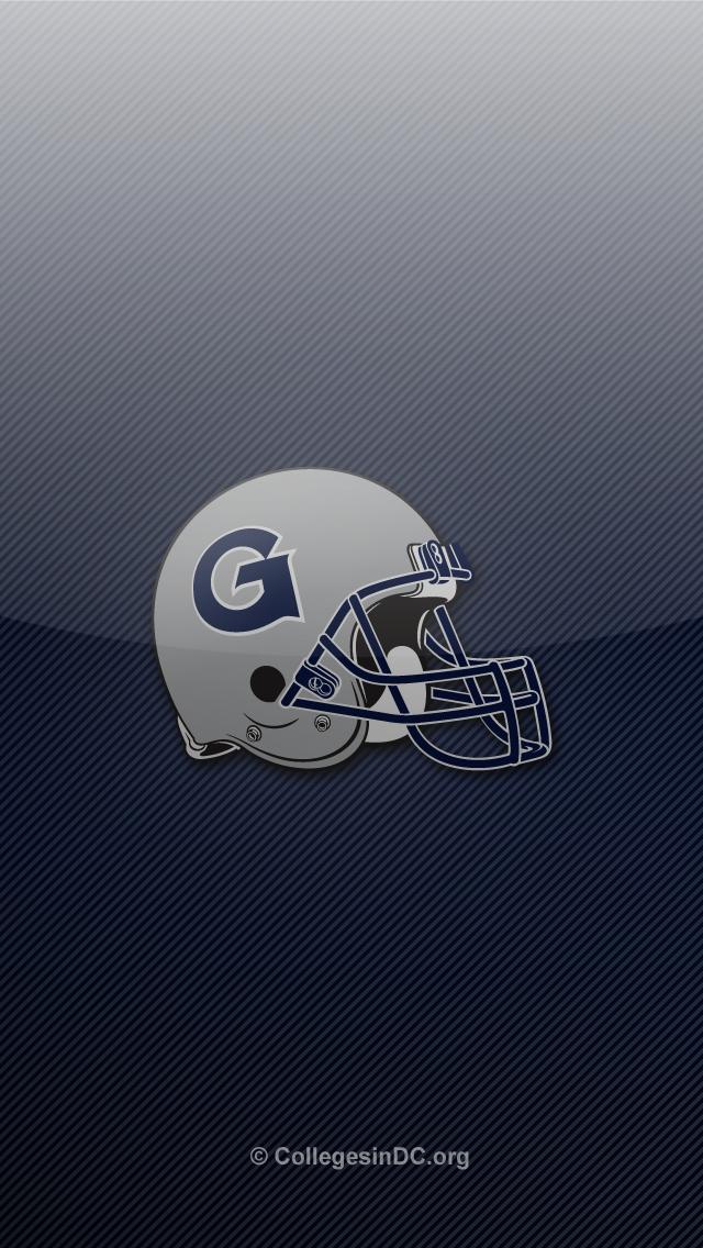 Georgetown Hoyas Basketball Logo Cat 640x1136