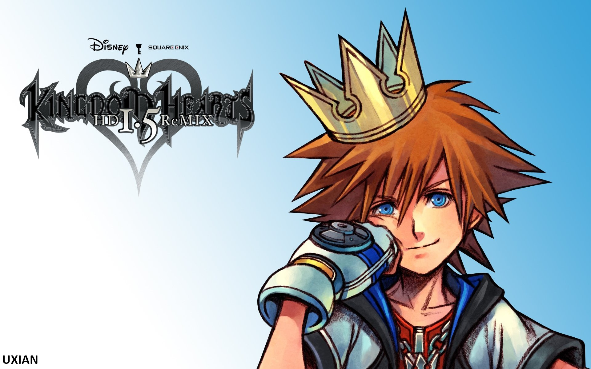 Sora   KH HD 15 ReMIX by UxianXIII 1920x1200