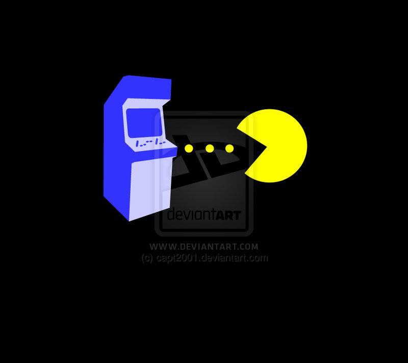 Pac Man Arcade Wallpaper by capt2001 800x711
