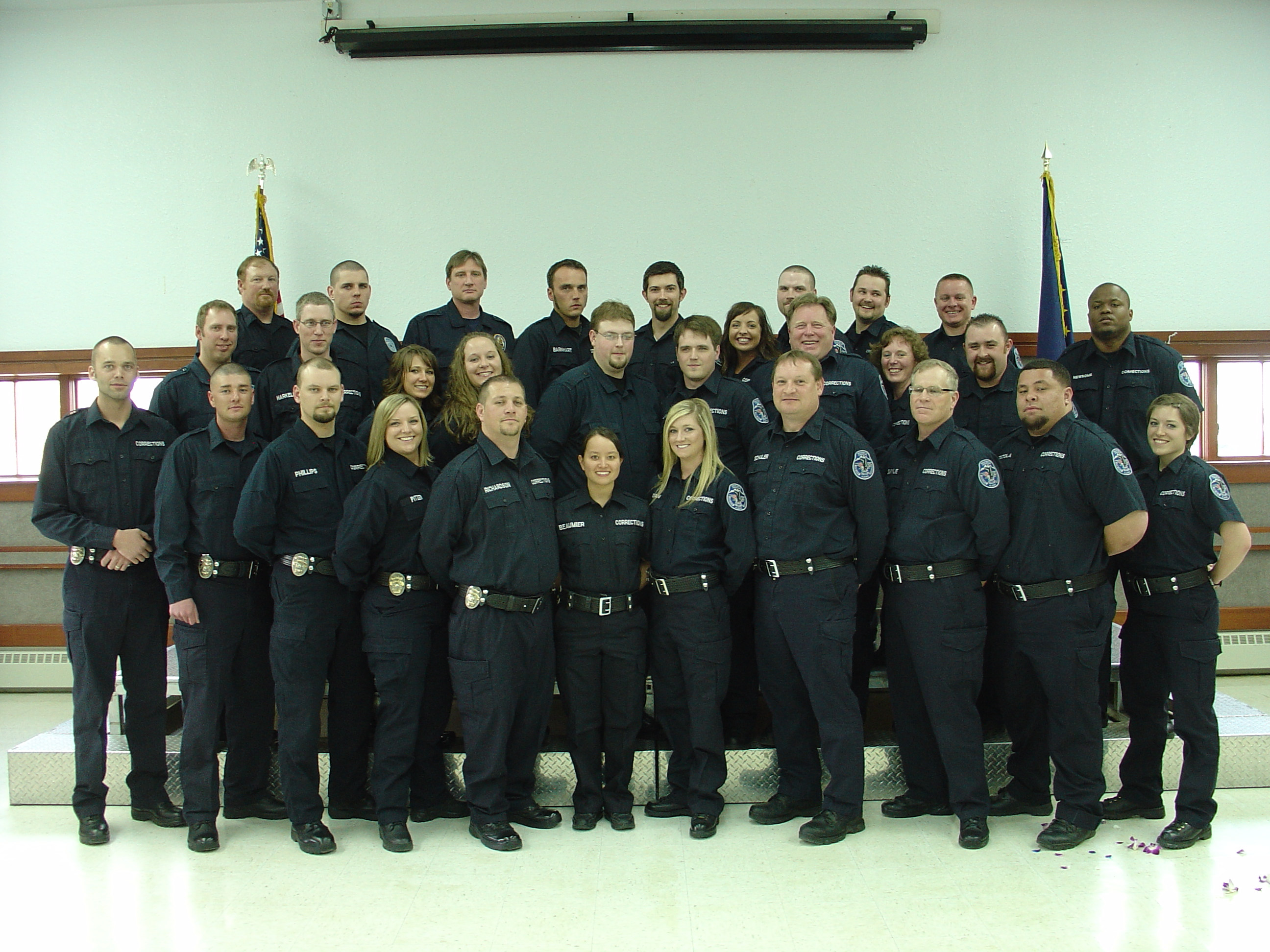 corrections prison and probation officers