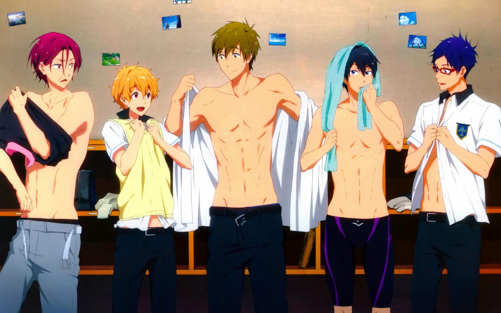 Iwatobi Swim Club Anime 02b HD Wallpaper 1920x1200