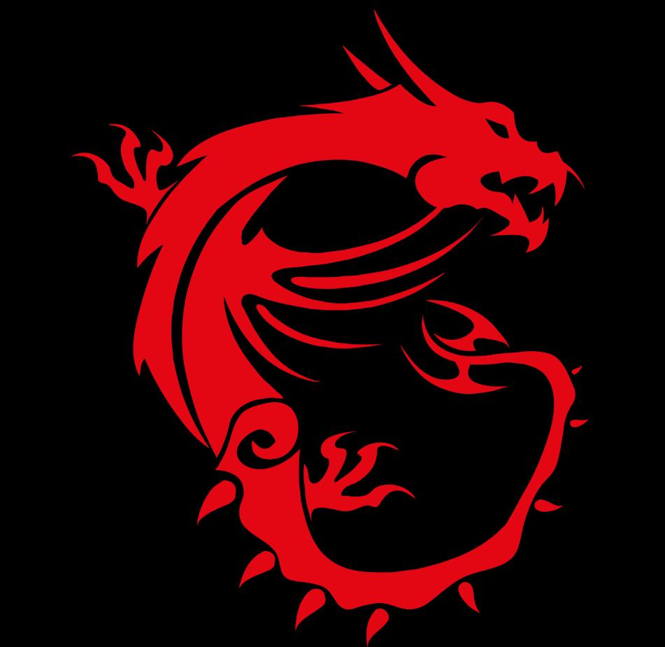 Msi Dragon Logo Widescreen Hd Wallpaper V4 Pictures 951x925