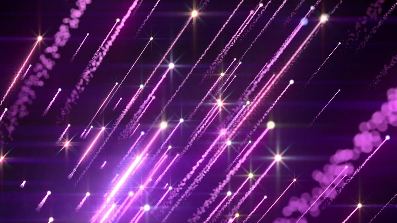4K Shooting Purple Star Field Moving Background AA vfx Live 1280x720