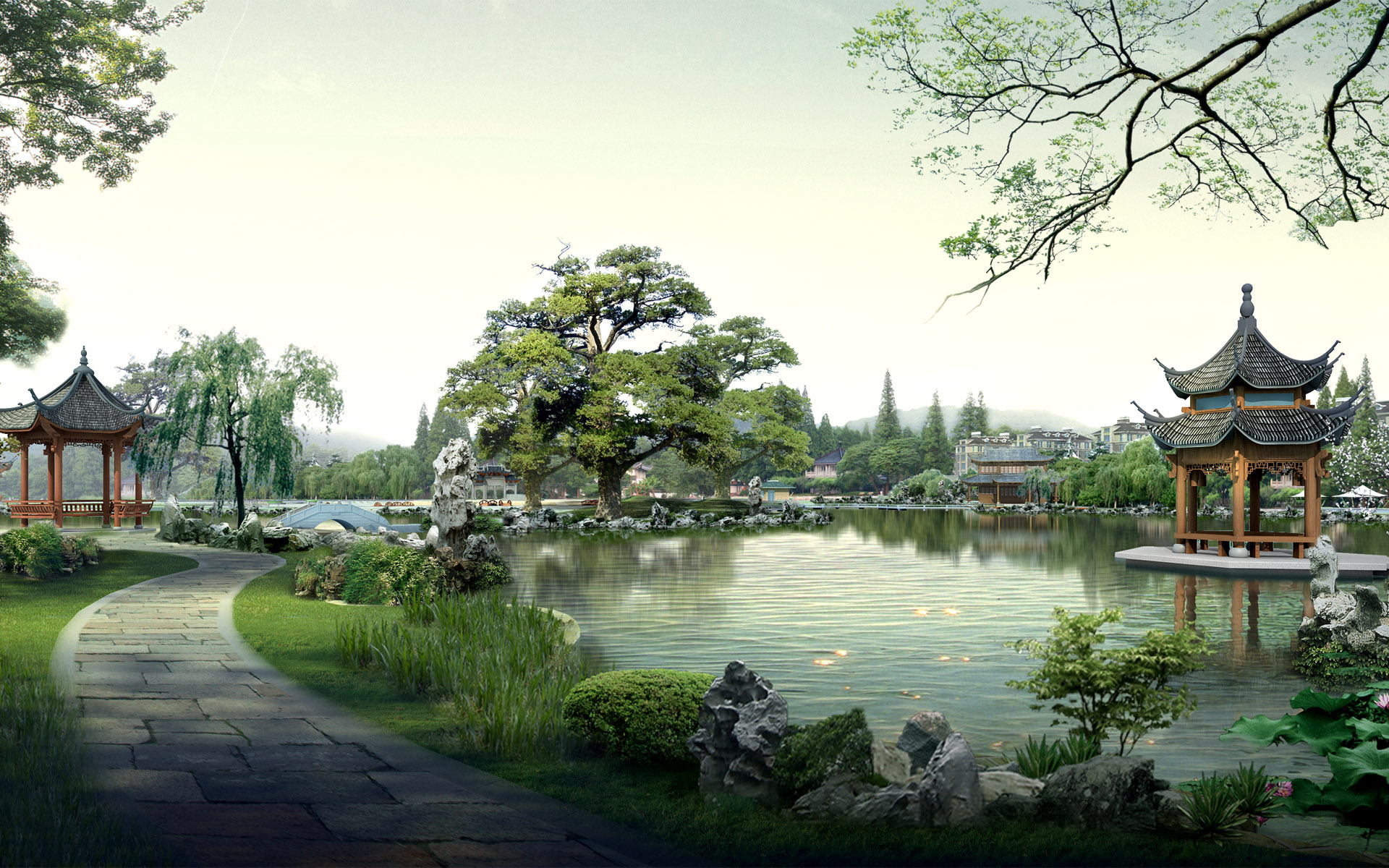 Japanese Garden Wallpapers: [45+] Japanese Garden HD Wallpaper On WallpaperSafari
