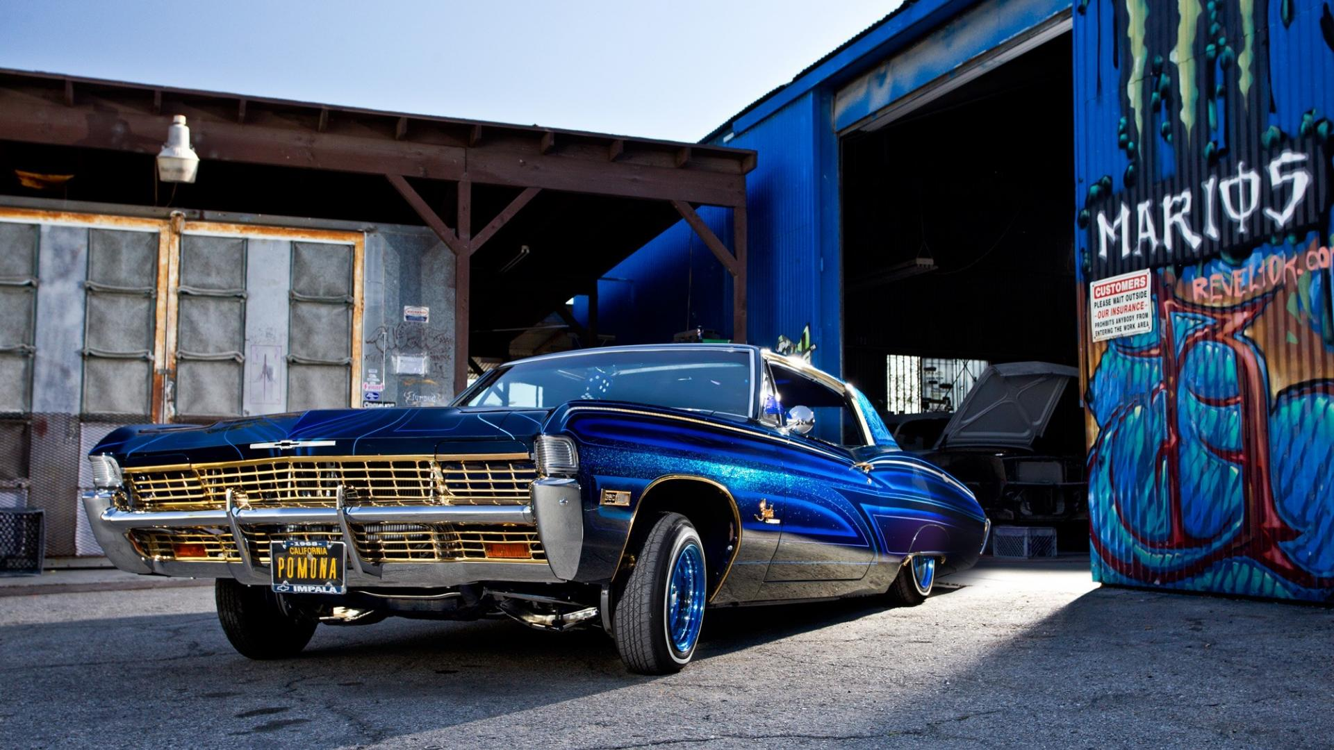 cars lowriders vehicles automobiles auto lowrider automobile custom 1920x1080