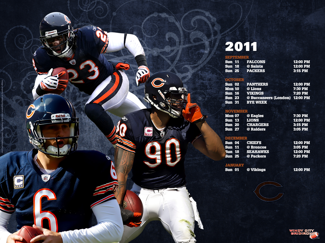 Chicago Bears wallpaper HD desktop wallpaper Chicago Bears 1280x960