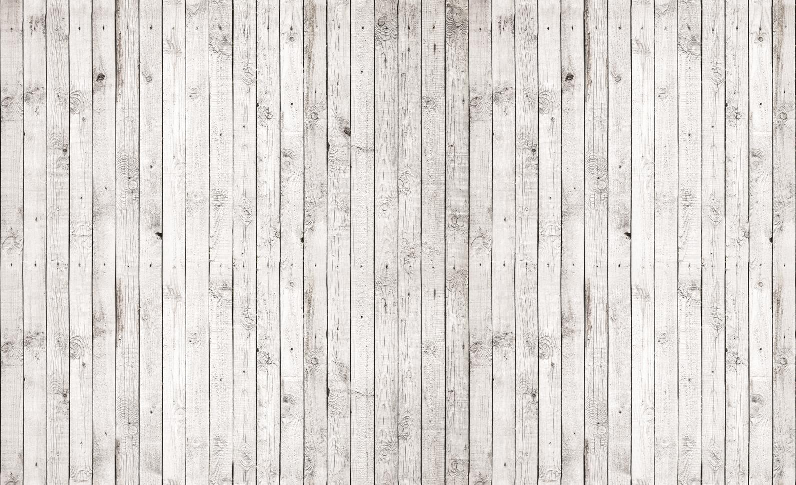 White Wood Background ...