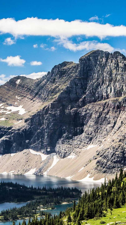 Iphone Wallpaper Hidden lake glacier national park montana 810x1440