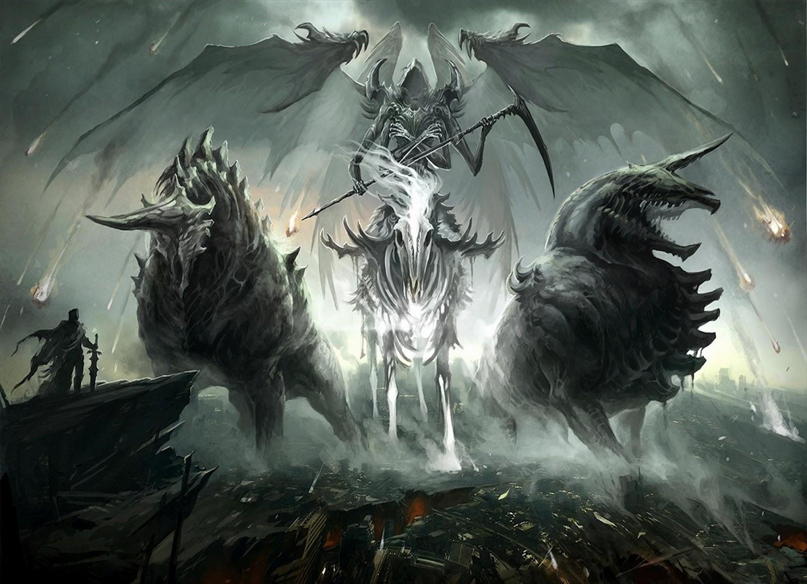 Digital HD Wallpapers Dark Fantasy Horror 1600x1158