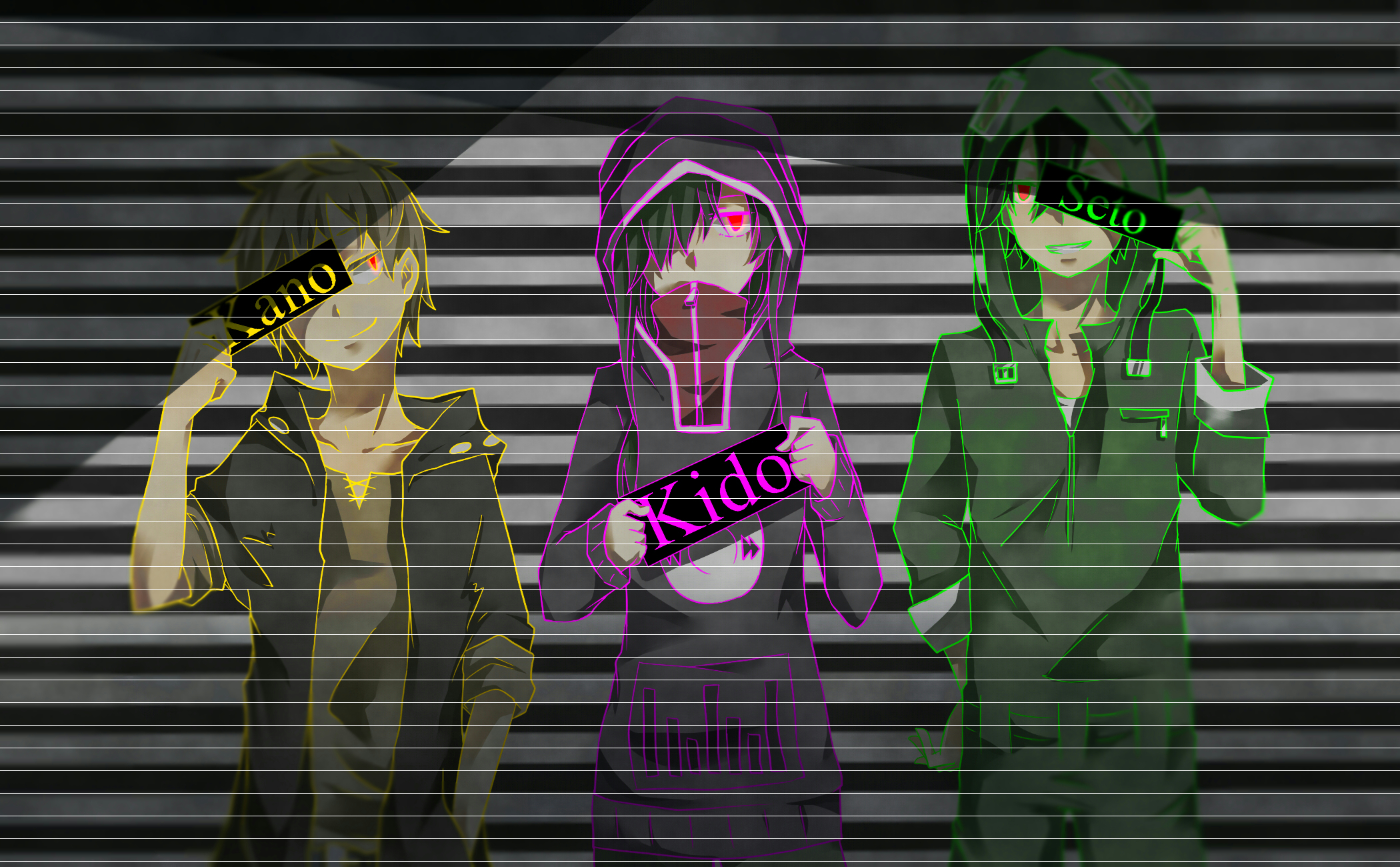 Free Download Kagepro Wallpaper Kagerou Project Photo