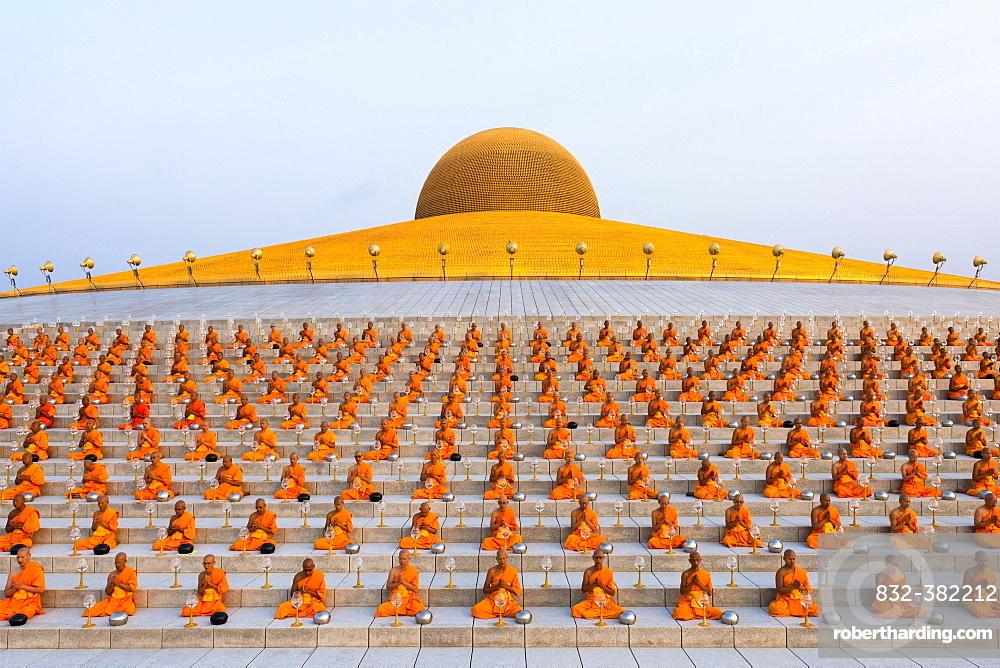 Wat Phra Dhammakaya temple on Stock Photo 1000x668