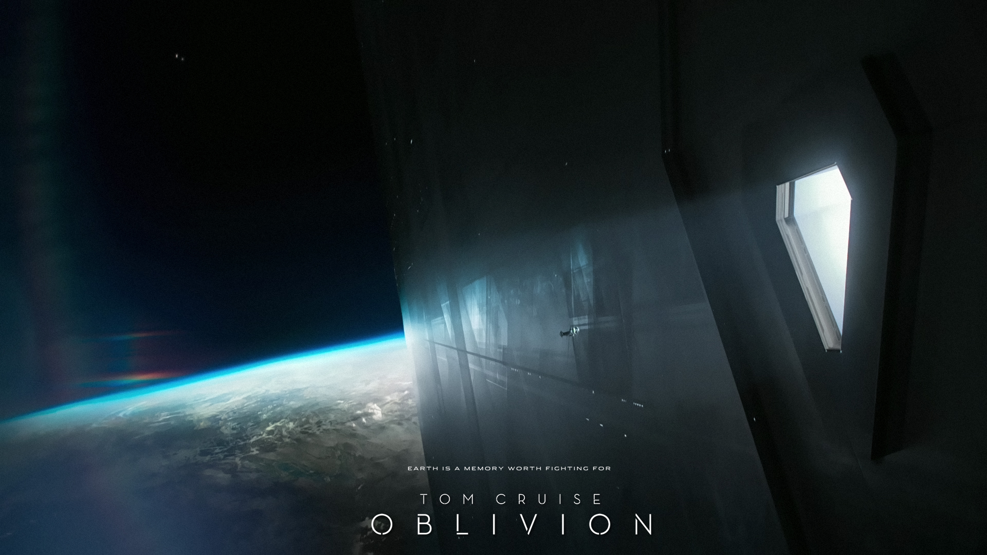 20 HD wallpapersscreenshots of quotOblivionquot with Tom Cruise 1920x1080