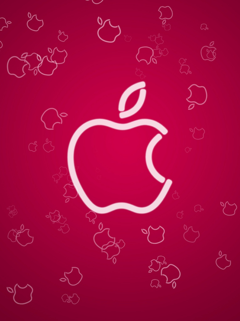 Apple Logo for iPad Mini Background iPad Retina HD Wallpapers 768x1024