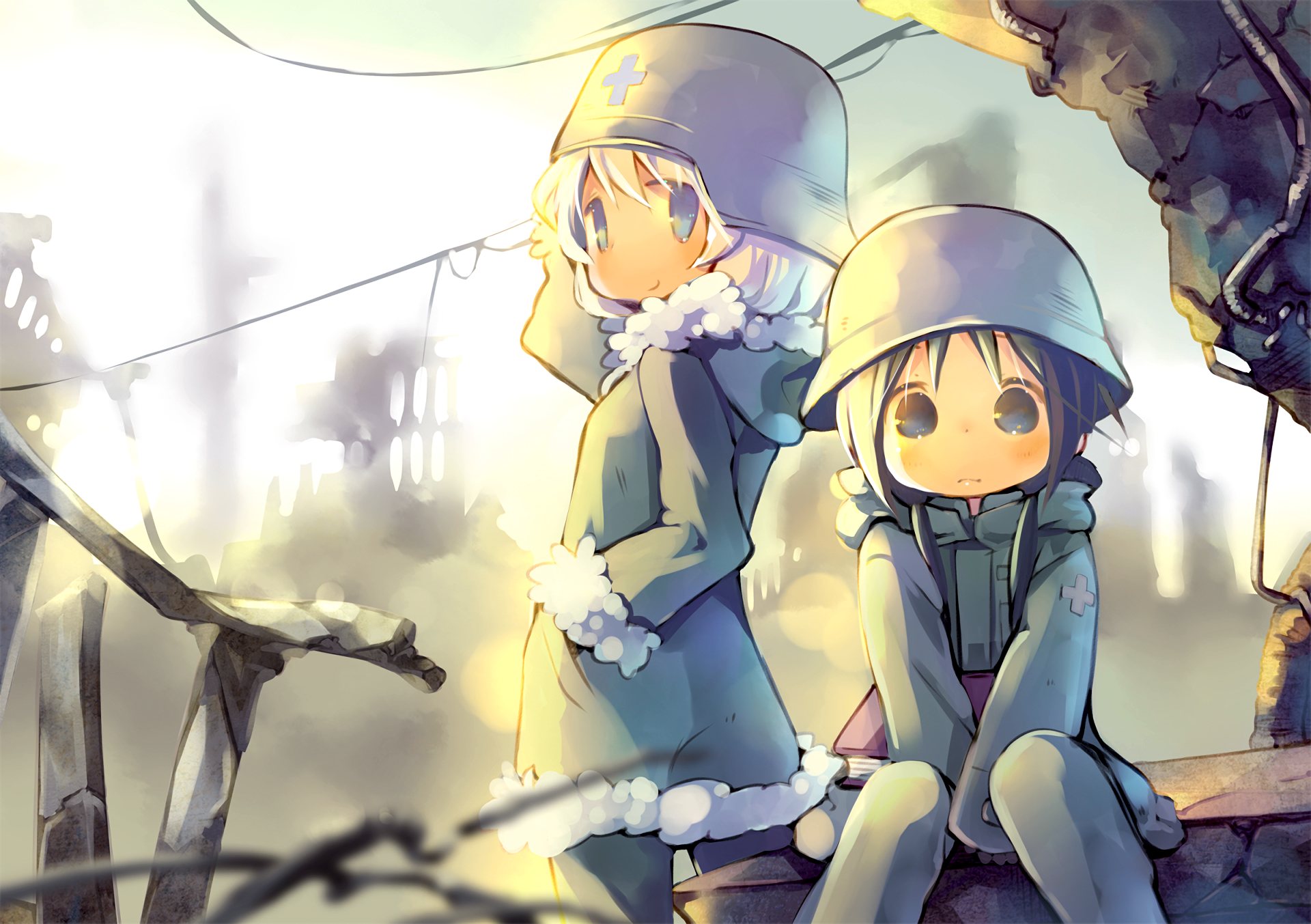 Anime Girls Last Tour Chito Girls Last Tour Yuuri Girls Last 1920x1353
