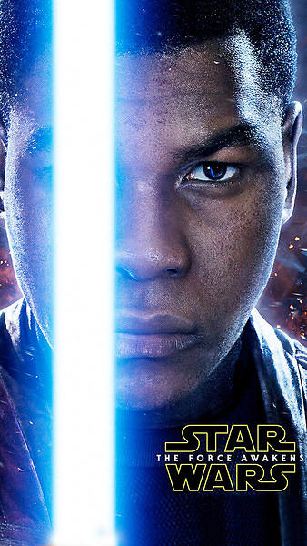 Finn Star Wars 7 The Force Awakens Smartphone Wallpaper 338x600