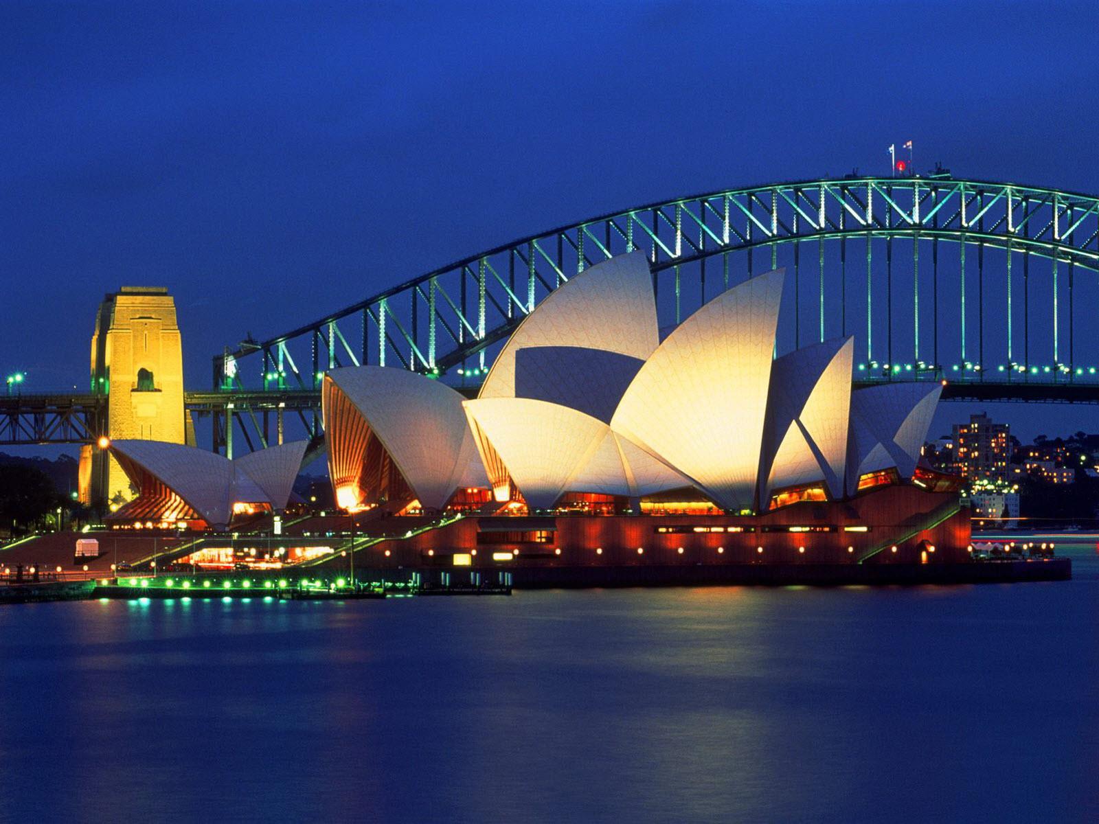 Sydney Opera House Australia Wallpapers HD Wallpapers 1600x1200