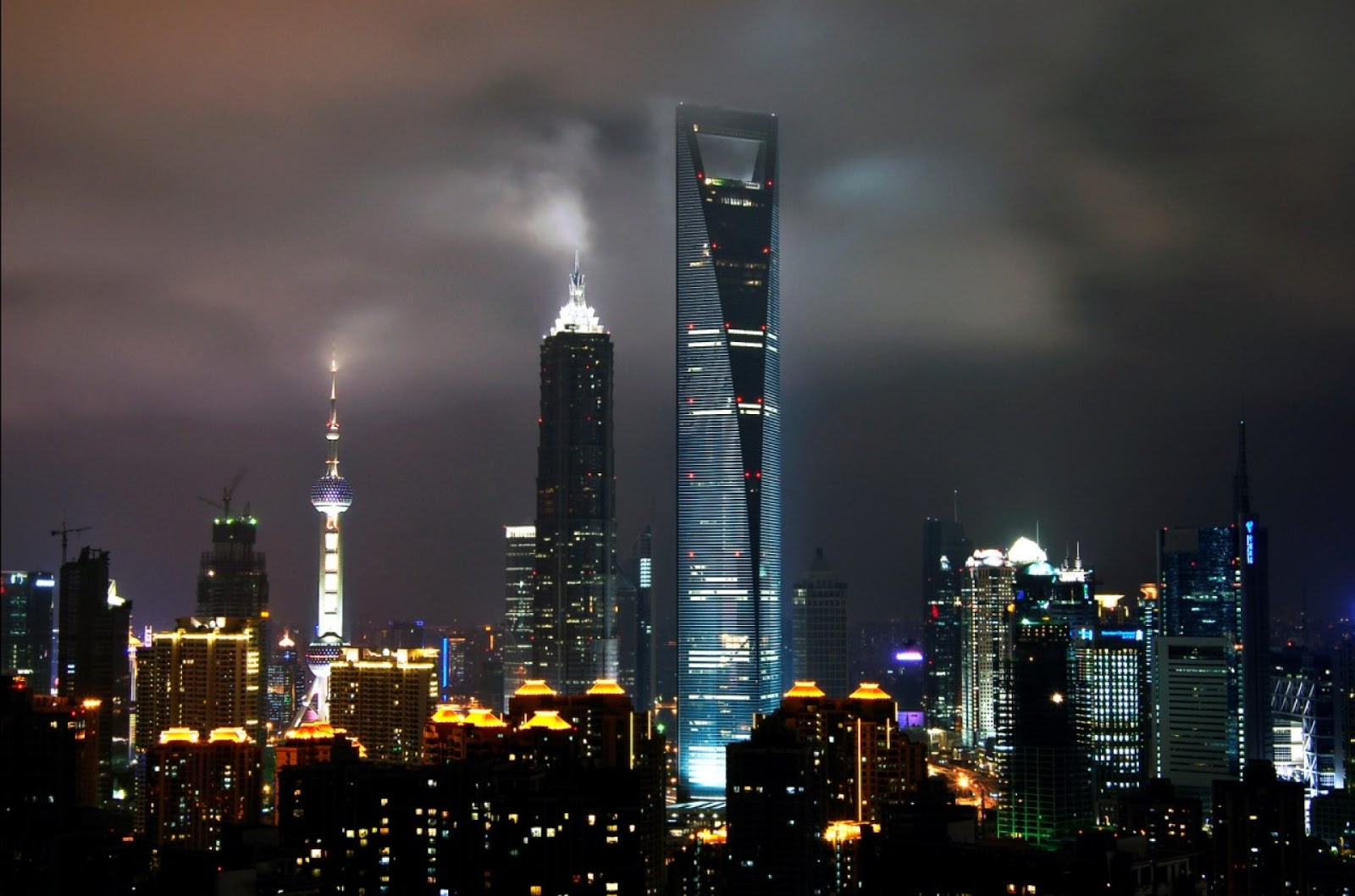 Best Beautiful Wallpaper shanghai skyline all type hd wallpapers for 1600x1058