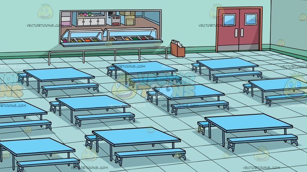 Image result for school cafeteria background Teal walls School 1024x574