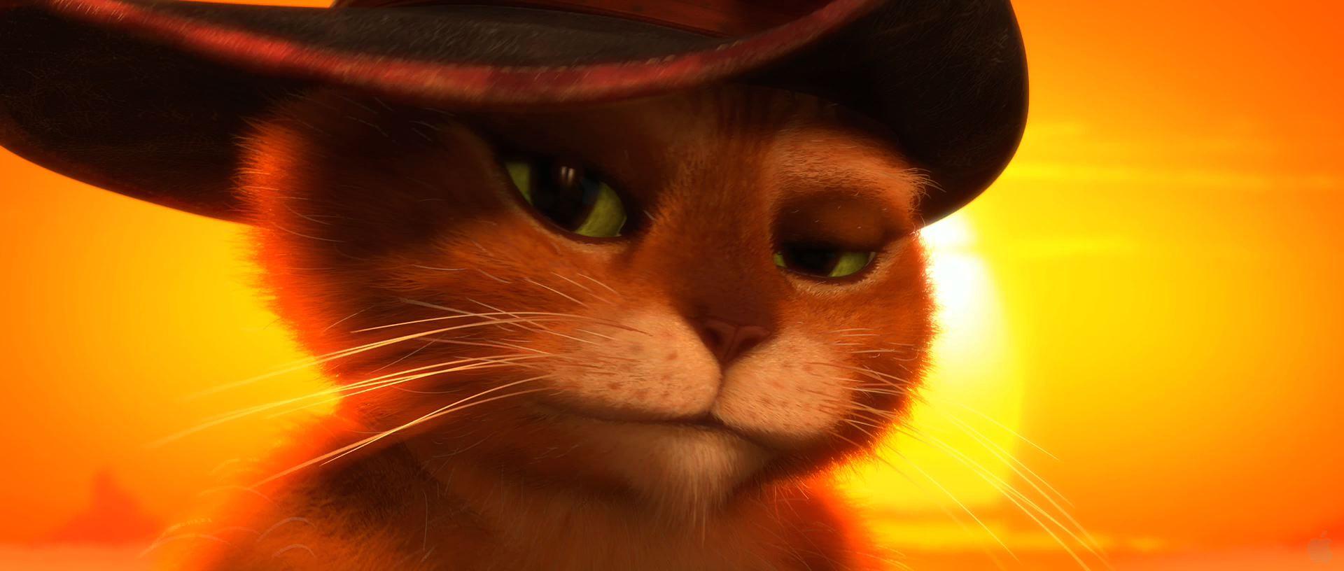 Гифка кота в сапогах