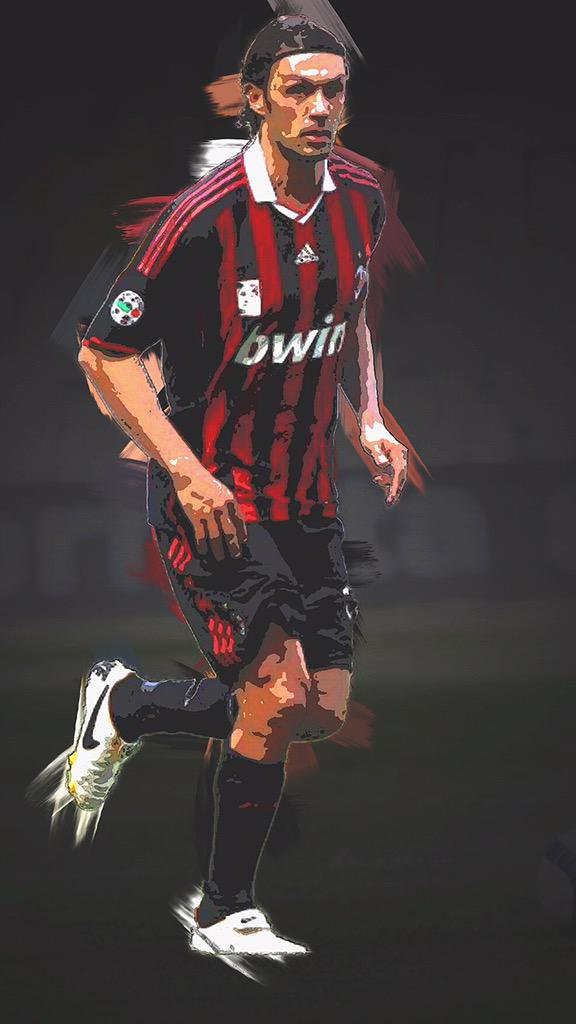 Football Edits on Twitter Paolo Maldini Wallpapers httptco 576x1024