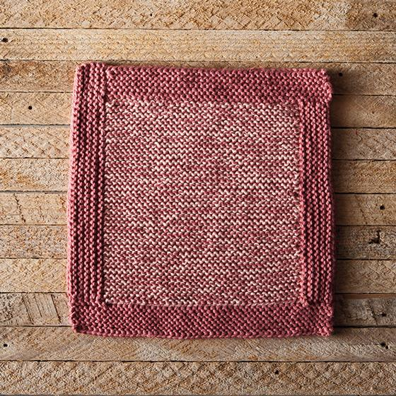 Log Cabin This Weeks Dishcloth Pattern KnitPicks Staff 560x560