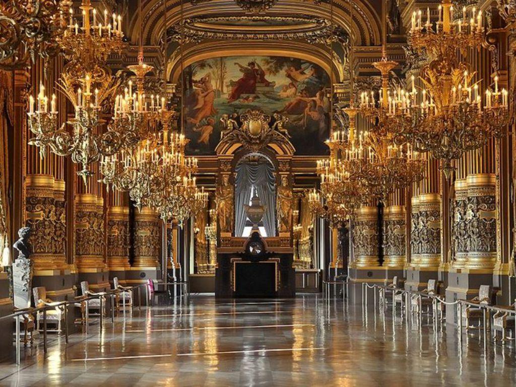 Opera wallpaper wallpapersafari - Art salon definition ...