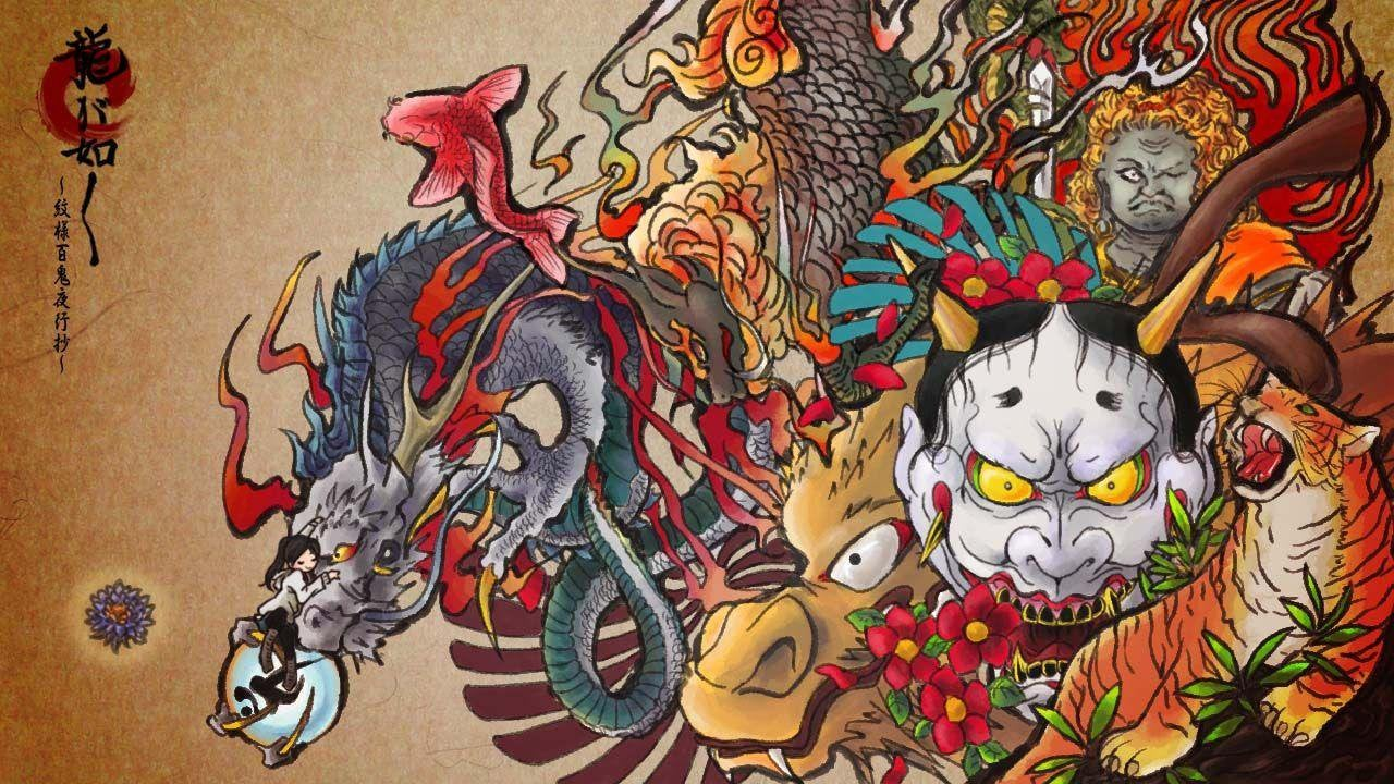 My favorite Yakuza wallpaper yakuzagames 1280x720