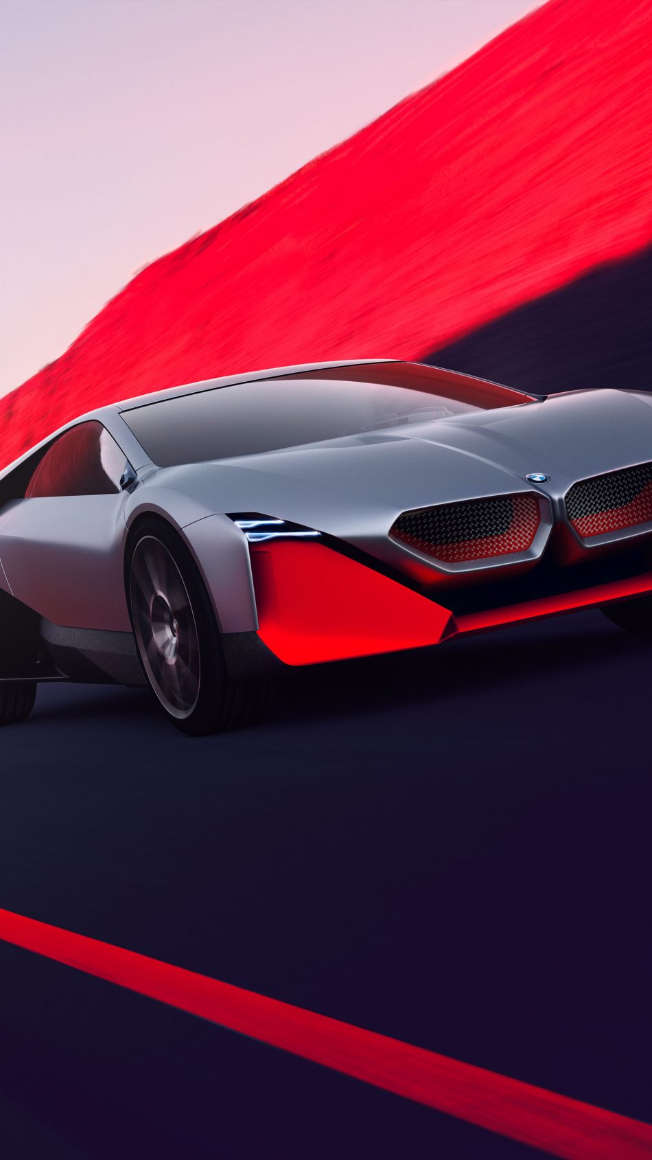 Download BMW Vision M Next Concept Car Pure 4K Ultra HD 950x1689