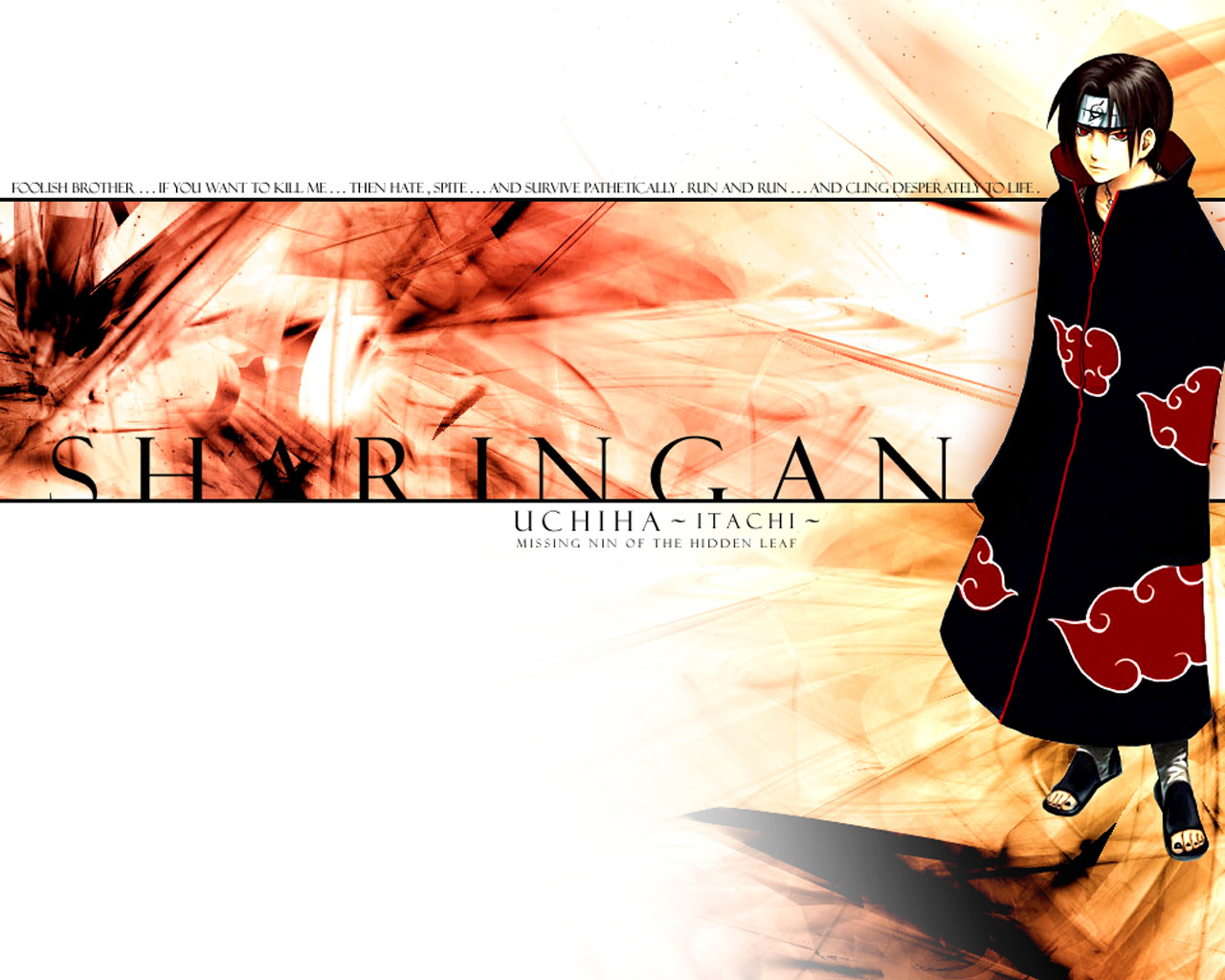 Wallpaper Hd Itachi Uchiha Download Wallpaper 1280x1024