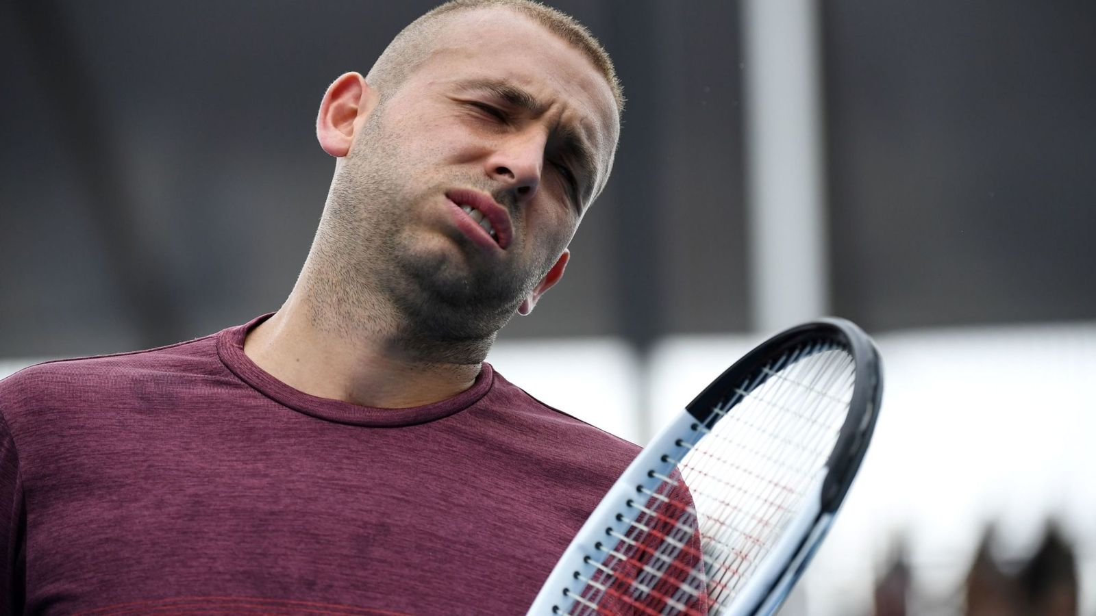 Australian Open 2020 Dan Evans defeated in straight sets Novak 1600x900