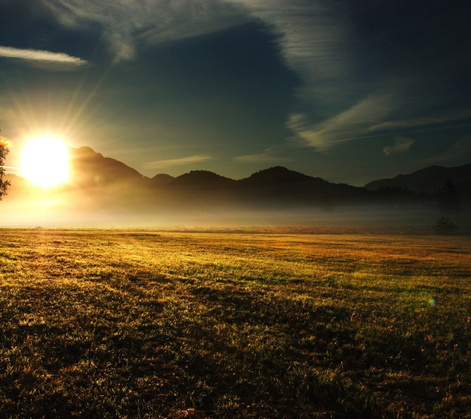 Android Beautiful Landscape At Sunrise photos Android Wallpapers 960x854