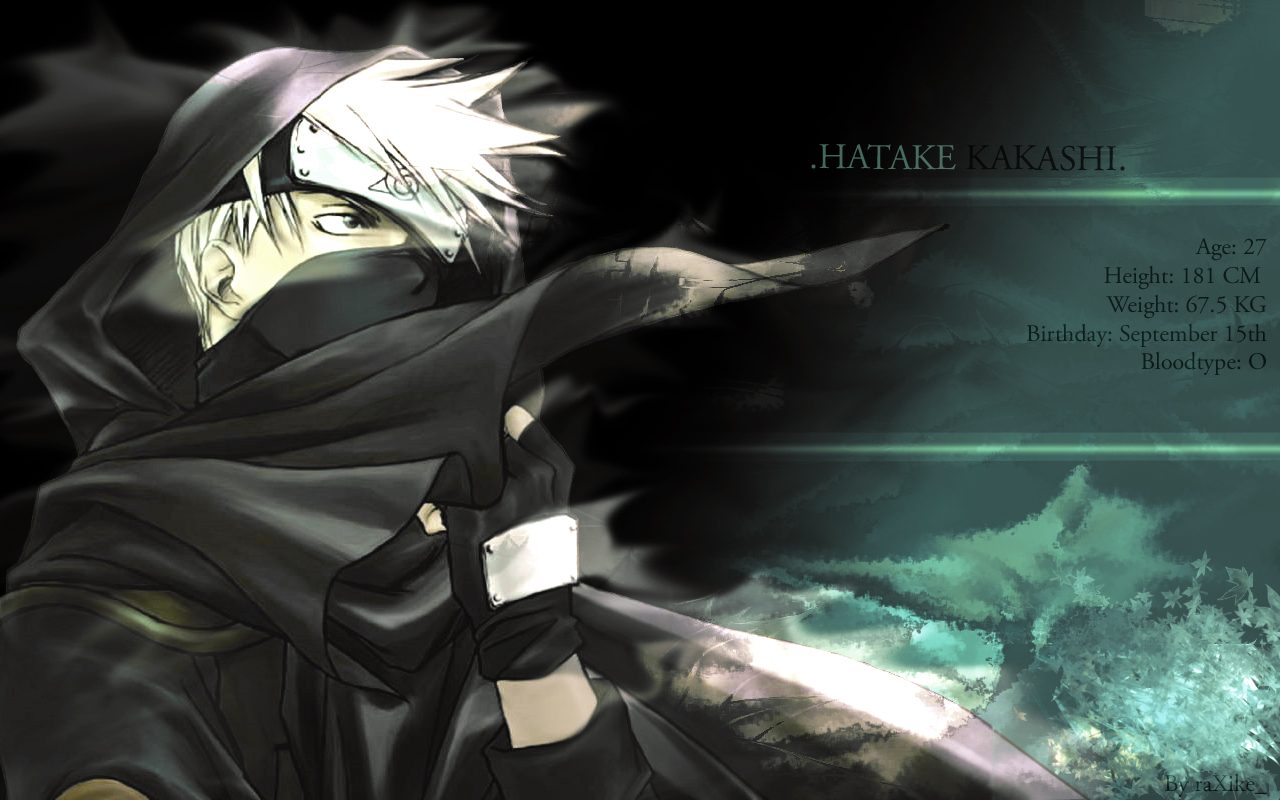 Kakashi Wallpaper Cool Art Anime 5647 Wallpaper Cool Walldiskpaper 1280x800