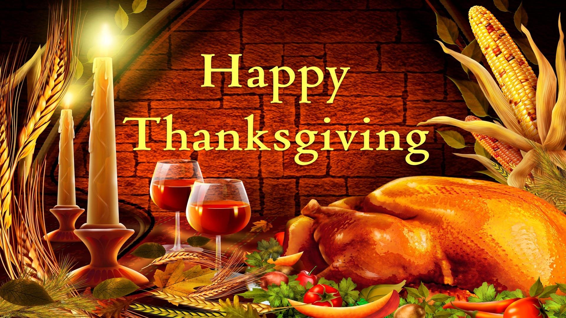 Thanksgiving 3d Wallpaper: Hd Thanksgiving Wallpaper
