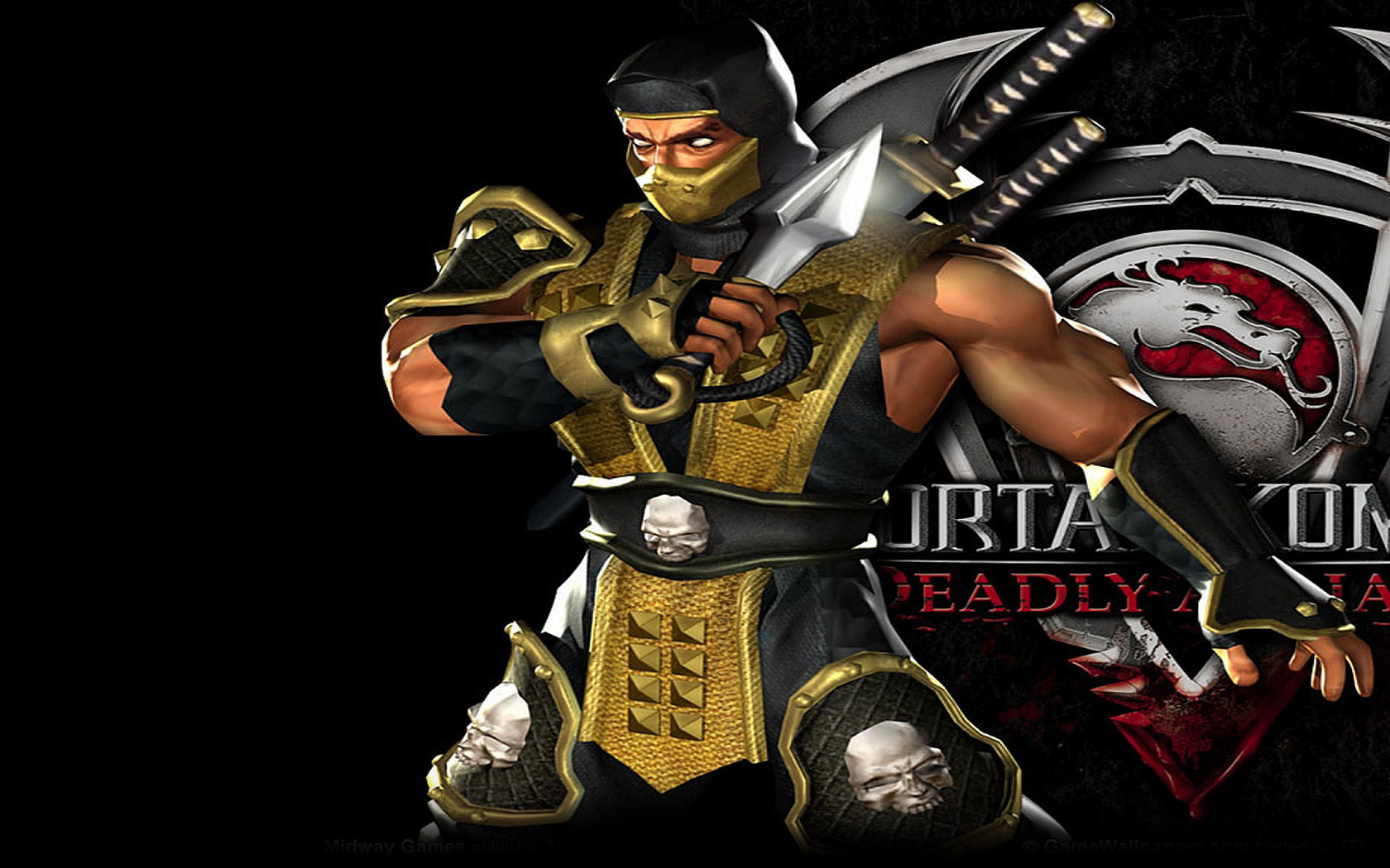 Scorpion   Mortal Kombat   Deadly Alliance wallpaper 12325 1680x1050