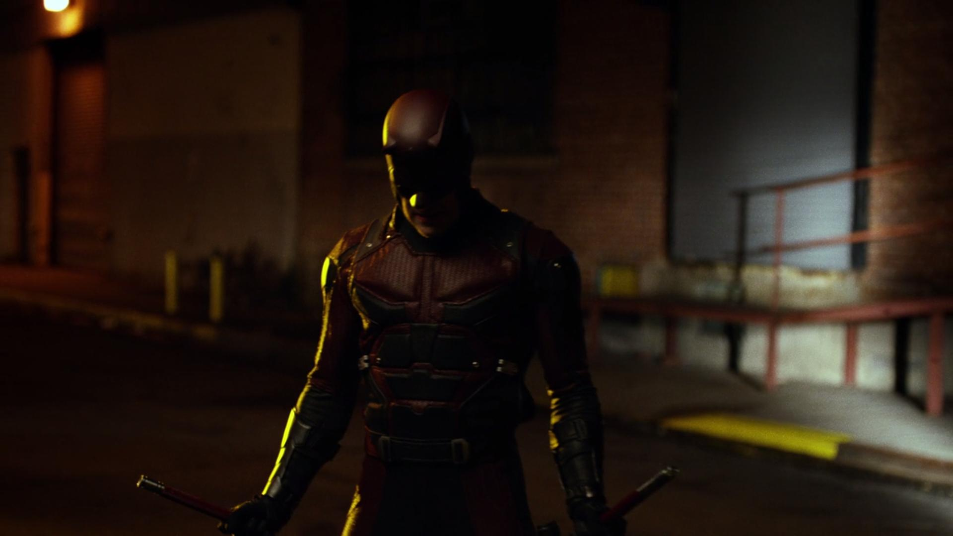 SPOILERS Check Out 15 HD Screengrabs Of DAREDEVILs Red Suit And That 1920x1080
